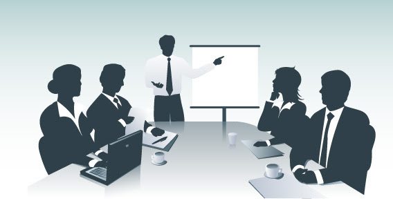 Business presentation (presentación de negocios)