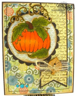 Our Daily Bread Designs, Pumpkin, Randi's Song
