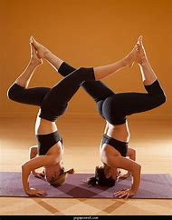 2 Person Yoga Poses Hard