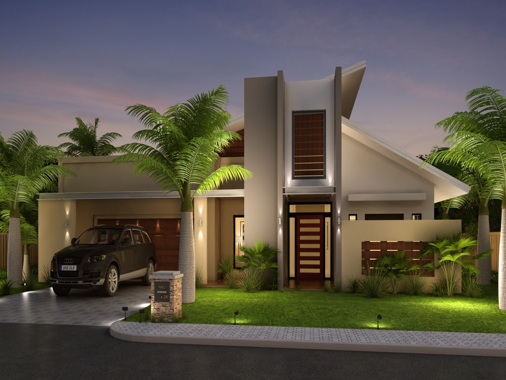 Front House Elevation Design Modern Front House Elevation ...
