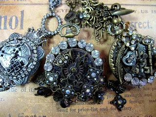 Steampunk Necklaces! 7