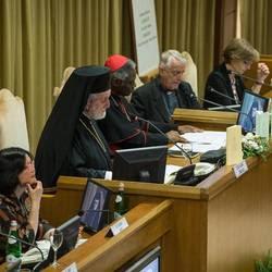 La presentazione dell'enciclica Laudato si'