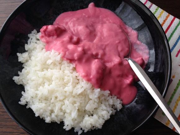 Resultado de imagem para curry azul japones