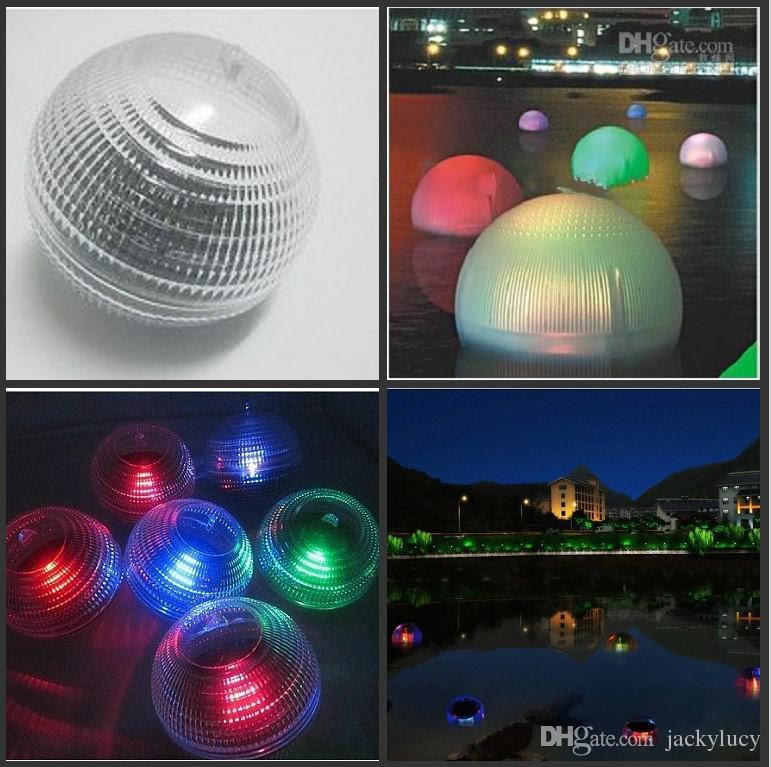 2018 Solar Powered Led Water Floating Globe Light Ip65 Waterproof Pond Lamp Christmas Hanging