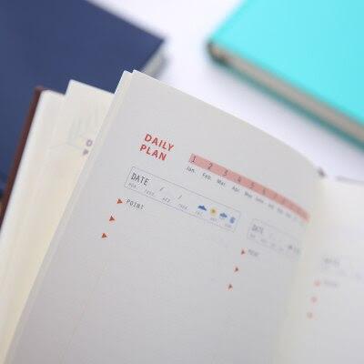 Aliexpress.com : Buy 365 Day Planner A5 Agenda Planner Organizer ...