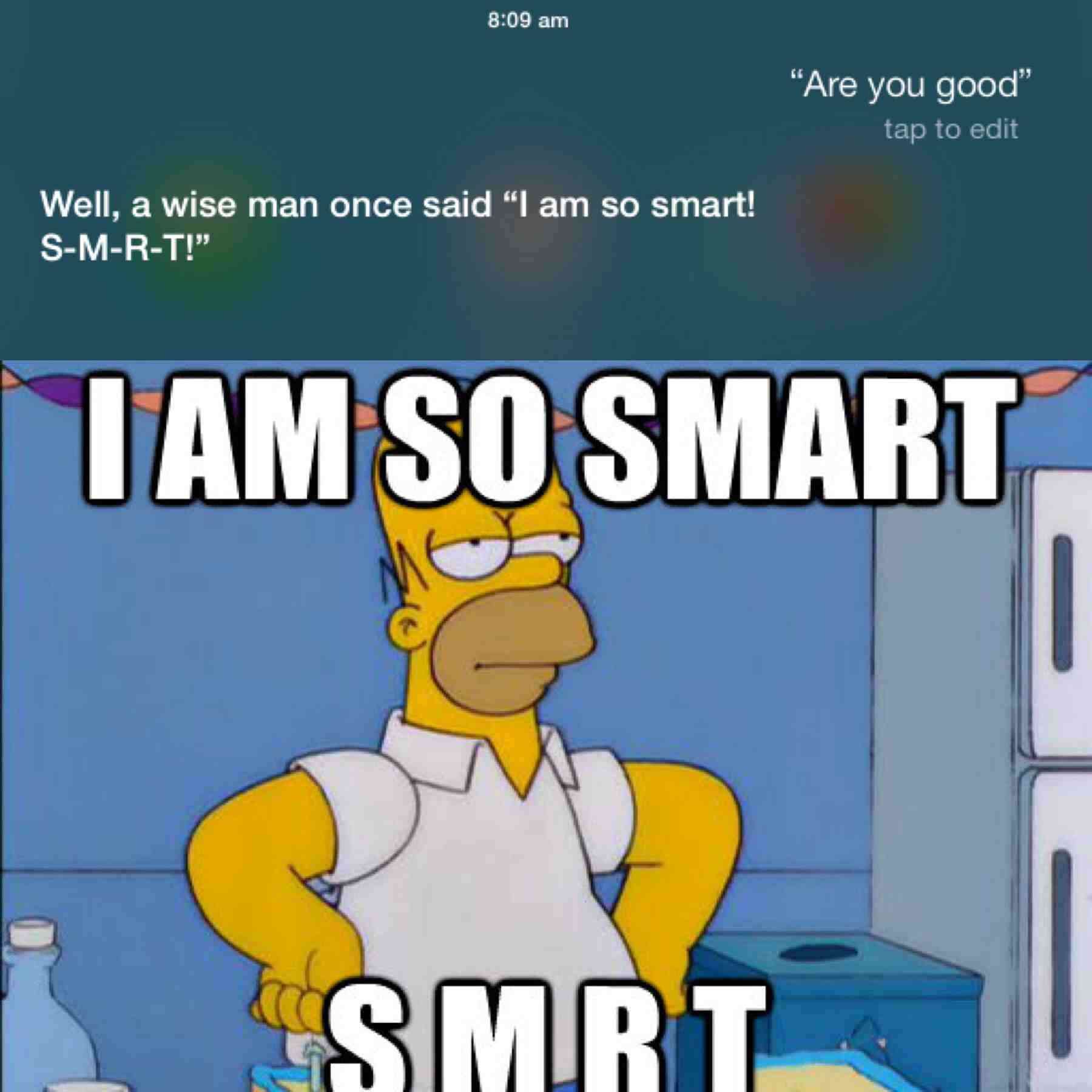 Siri Quotes The Simpsons Funny