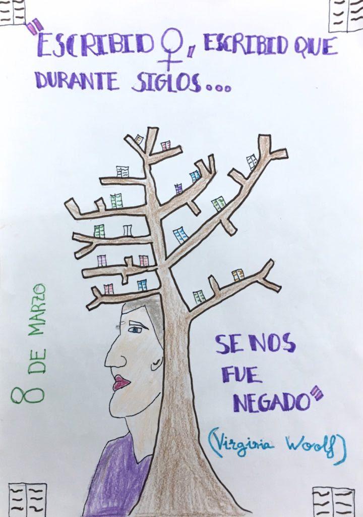 Ganadores Dibujo Día Internacional De La Mujer Ayuntamiento De
