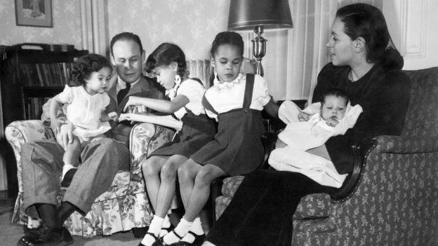 Charles Drew y su familia
