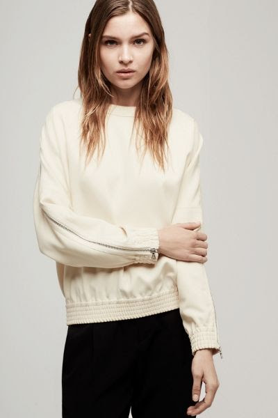 Rag and Bone Zip Top