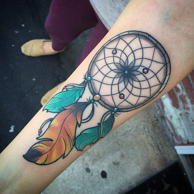 Dream Catcher On Arm Best Tattoo Ideas Gallery