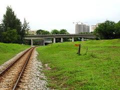 Railway at Buona Vista