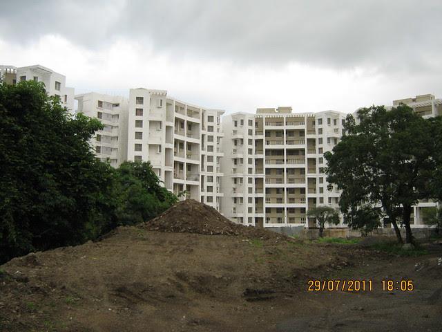 Site of Paranjape Schemes' Gloria Grace, 2 BHK & 3 BHK Flats, at Bavdhan, on Paud Road, Kothrud Annexe, Pune