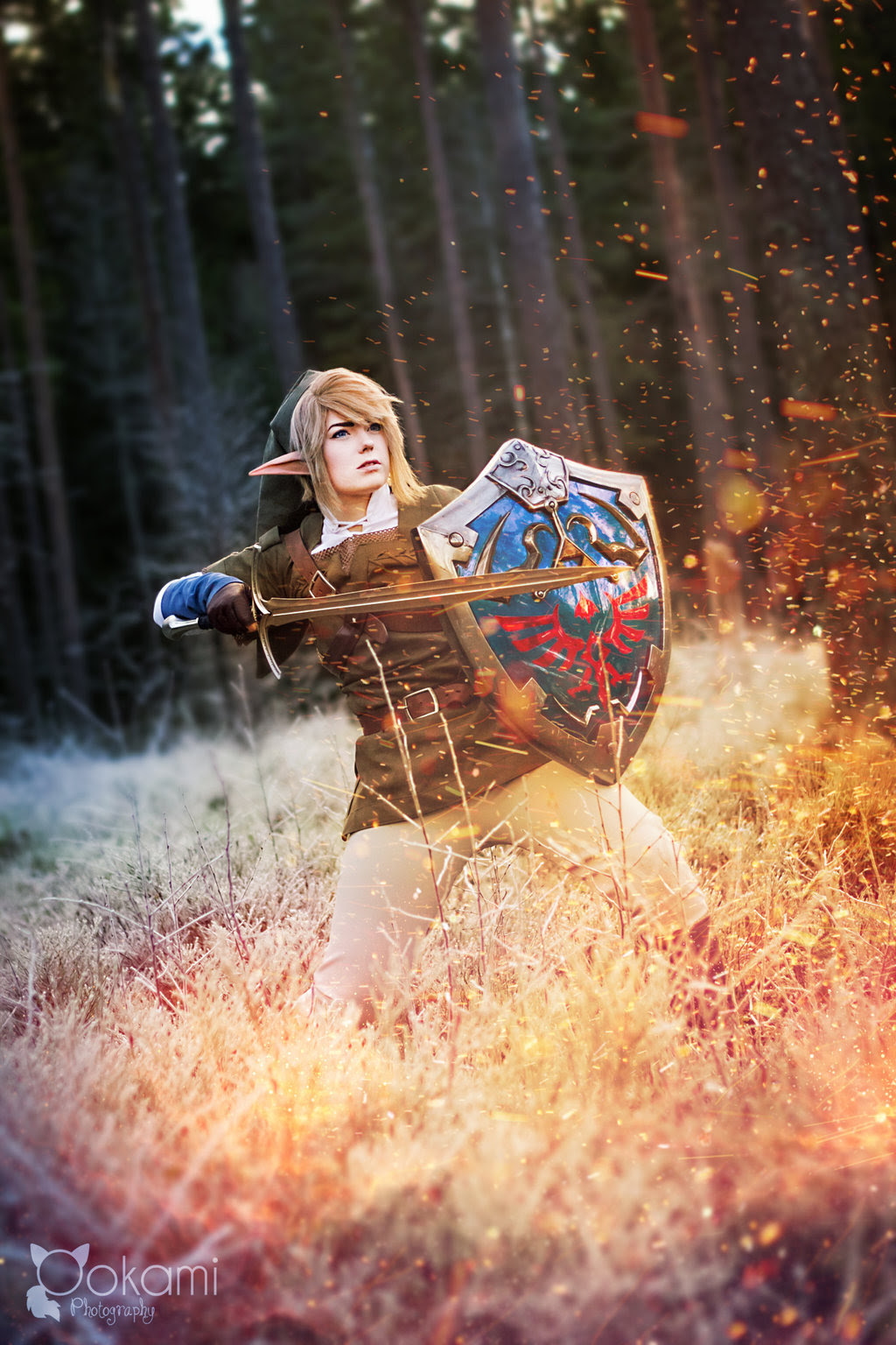 Twilight Princess - Fire battle by SophieRiis