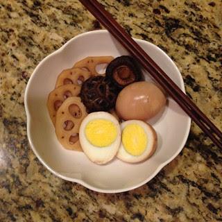 braised eggs