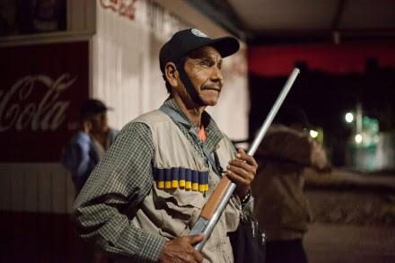 La policía comunitaria en Huamuxtitlán, Guerrero. Foto: Xinhua / Prometeo Lucero
