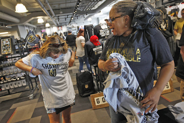 f0231731bbf New Golden Knights gear goes fast at team's Las Vegas store