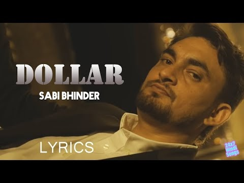 DOLLAR LYRICS SABI BHINDER