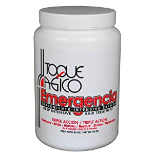 Emergencia Emergency Deep Intensive Keratin Repair Treatment by Toque Magico 56oz