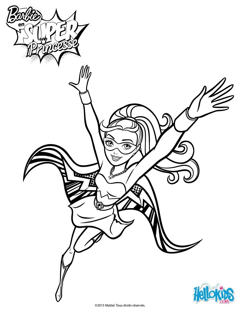 Große Glitter im Flug Super Princess Kara