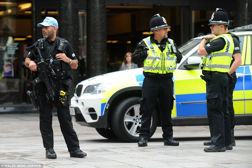Police in Cardiff for NATO summit