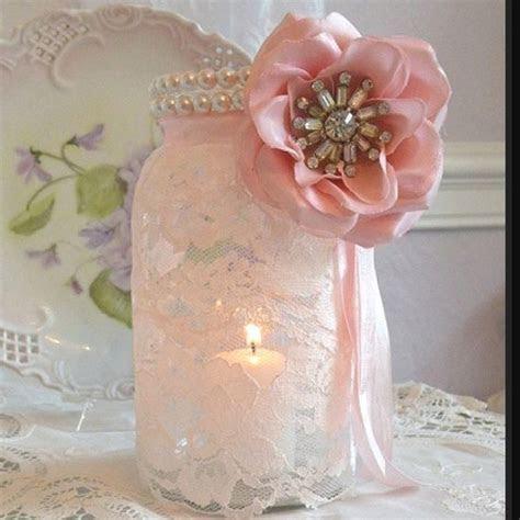 mason jar wedding decorations for sale   Mason jar   lace