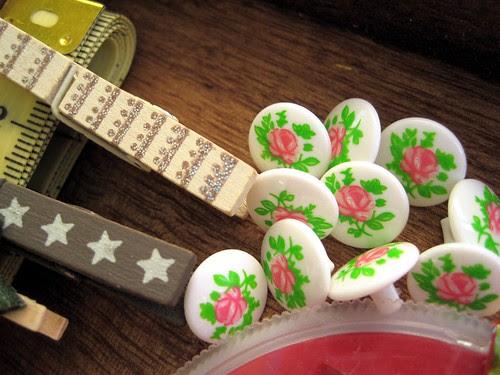 Botones y pincitas
