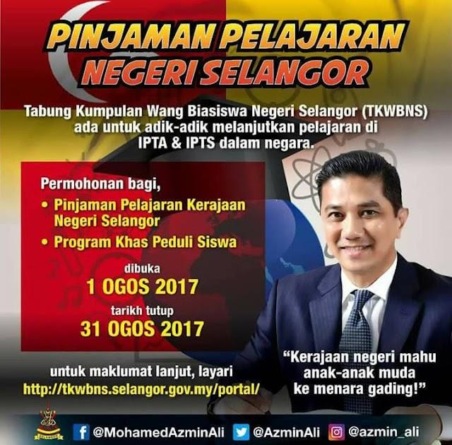 Berita Baik Pinjaman Pelajaran Selangor Tanpa Faedah Berita Wawancara