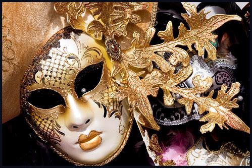 masker in venetie by hans van egdom