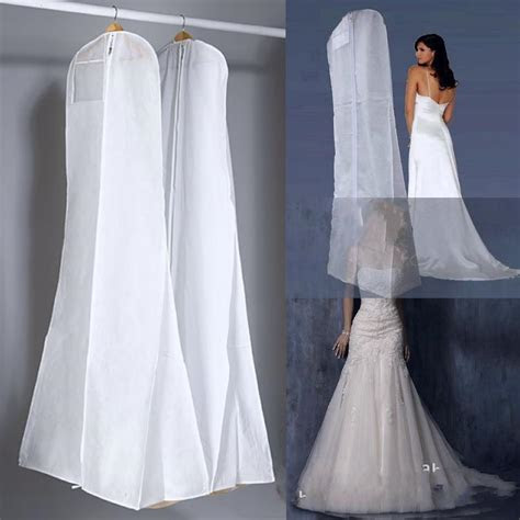 New All White No Logo Cheapest Wedding Dress Gown Bag