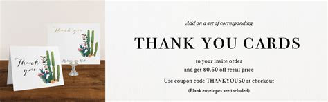 Thank You Cards   Beacon Lane Wedding Invitations