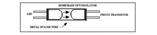 homemade optoisolator