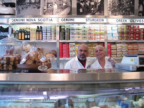 Russ and Daughters, NYC