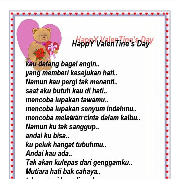 Kata Kata Ucapan Hari Valentine Buat Pacar Yang Jauh ...