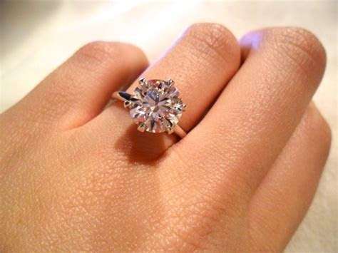 Sarah's Half Round Solitaire Engagement Ring   Brian Gavin