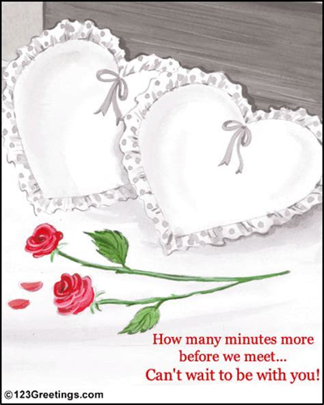 Waiting To Be Together  Free Heart to Heart eCards