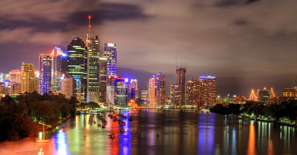 City in HDR