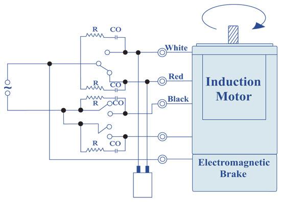 Electric Motor Brake Wiring Diagram