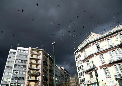 Καιρός: Έρχονται βροχές! η πρόγνωση της Τρίτης