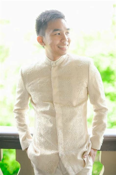 The Barong Suit by BKS #menswear #handembroidered #