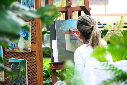 Sell painting as side hustle