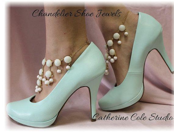 Chandelier Shoe Jewelry Amazing FREE U S A  by CatherineColeStudio, $27.50