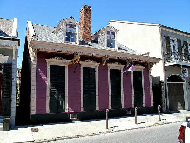 Creole Cottage II - love the color combinations on these places...
