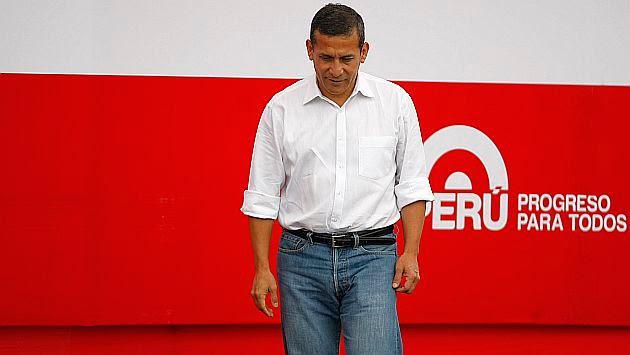 Ollanta Humala dice que no teme que se investigue caso López Meneses