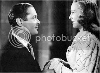 Robert Montgomery and Evelyn Keyes, Here Comes Mr. Jordan (1941)