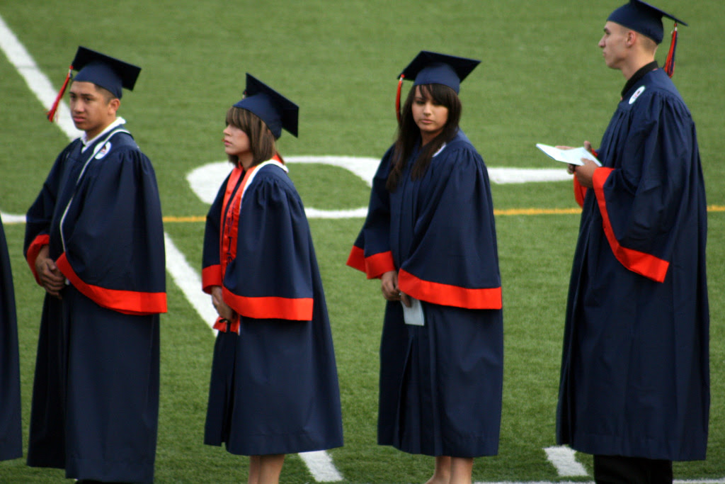 File photo: At the end of the fall semester, barely half of Los Angeles Unified high school seniors were on-track for graduation. By Feb. 18, that number had jumped to 63 percent.