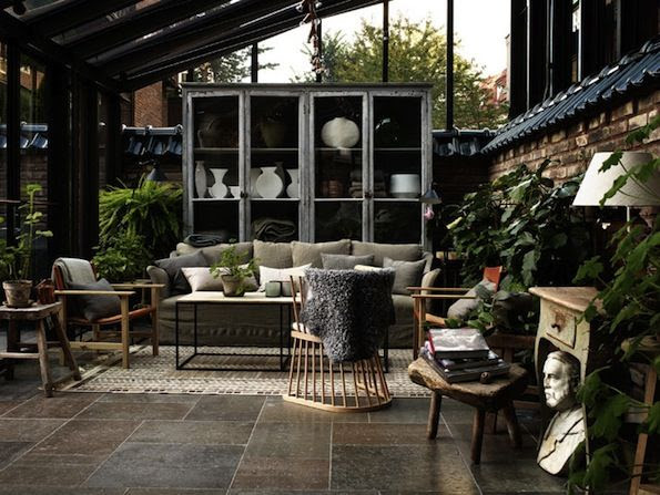 "If I ever end up with one of those less than beautiful ""sun room"" things"