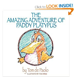 The Amazing Adventure of Paddy Platypus (Volume 1)
