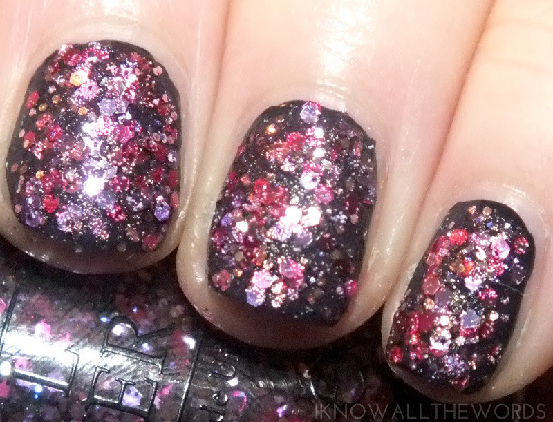OPI Spotlight on Glitter- Blush Hour (2)
