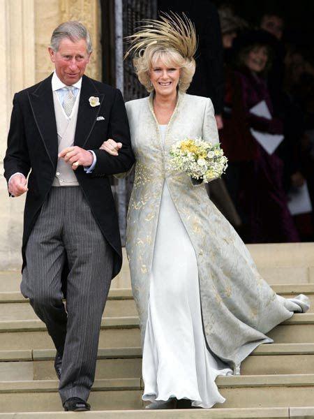 Camilla wearing a pheasant feathered bridal fascinatior