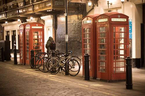 London Back Street